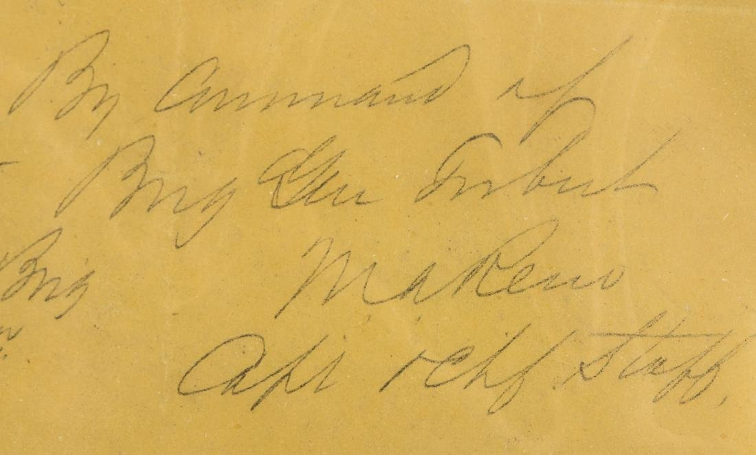 Letter from Marcus Reno to George A. Custer, 1864 - 4