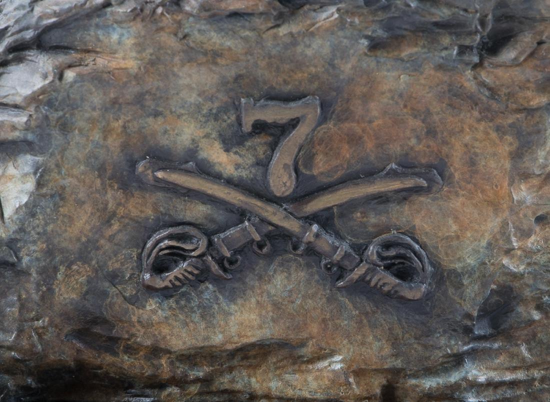 Bronze of Custer at Little Big Horn - 10