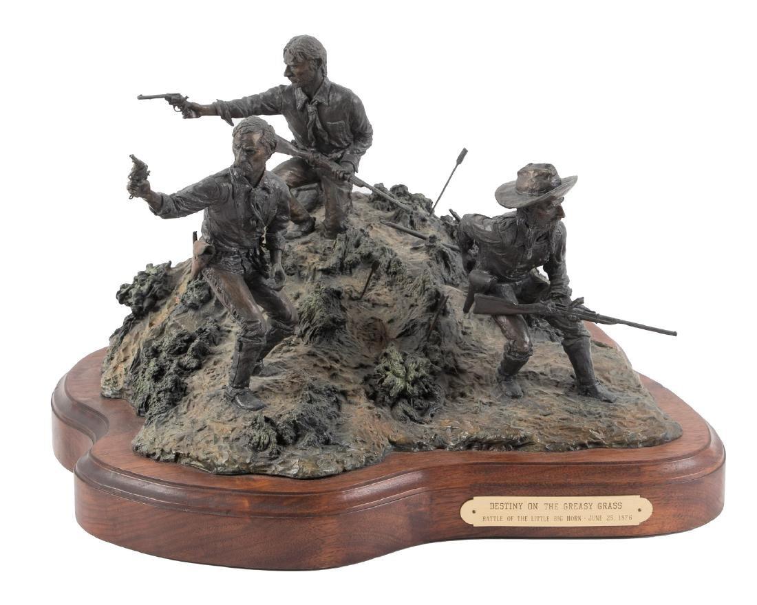 Bronze of Custer at Little Big Horn