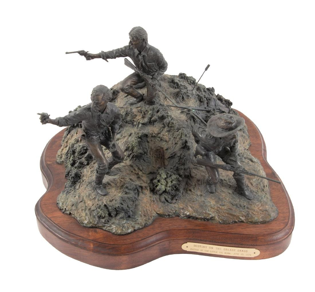 Bronze of Custer at Little Big Horn - 2