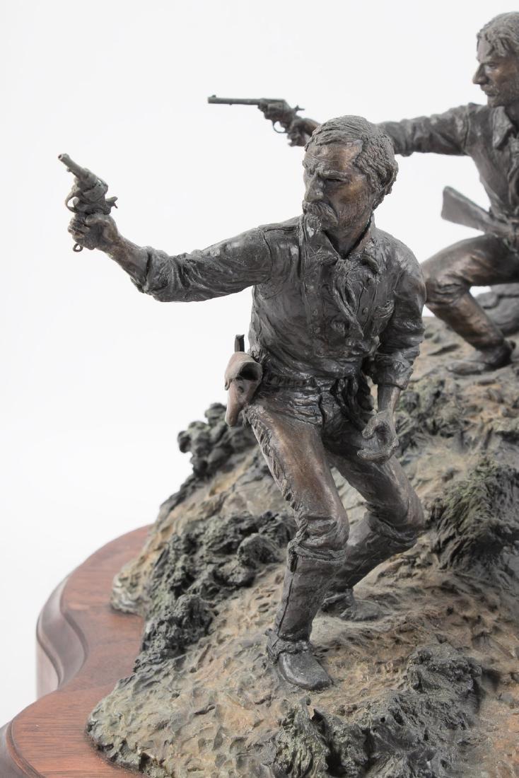 Bronze of Custer at Little Big Horn - 7