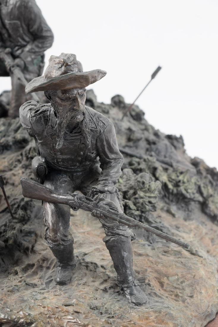 Bronze of Custer at Little Big Horn - 8