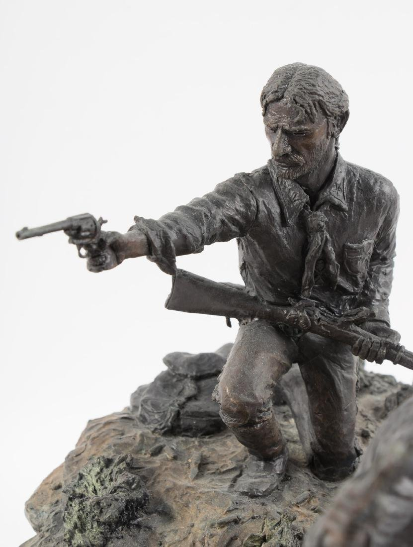 Bronze of Custer at Little Big Horn - 9