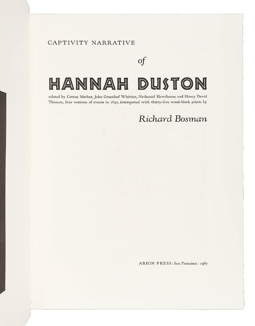 Narrative of Hannah Duston Arion Press 1/425