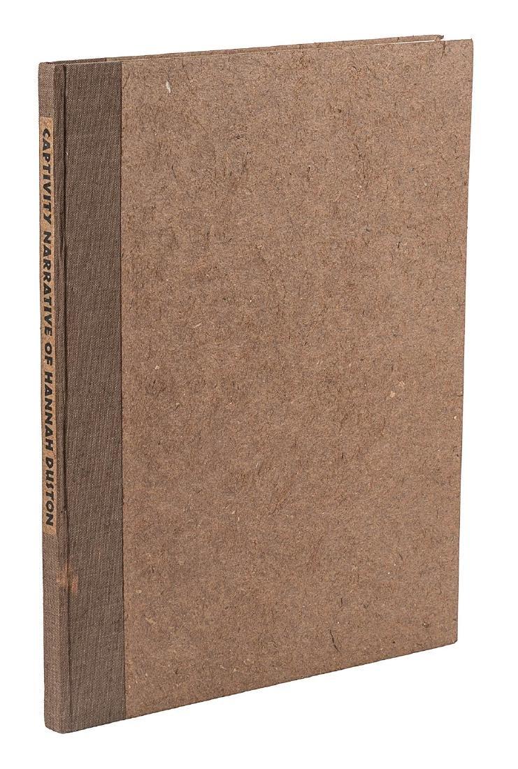 Narrative of Hannah Duston Arion Press 1/425 - 2