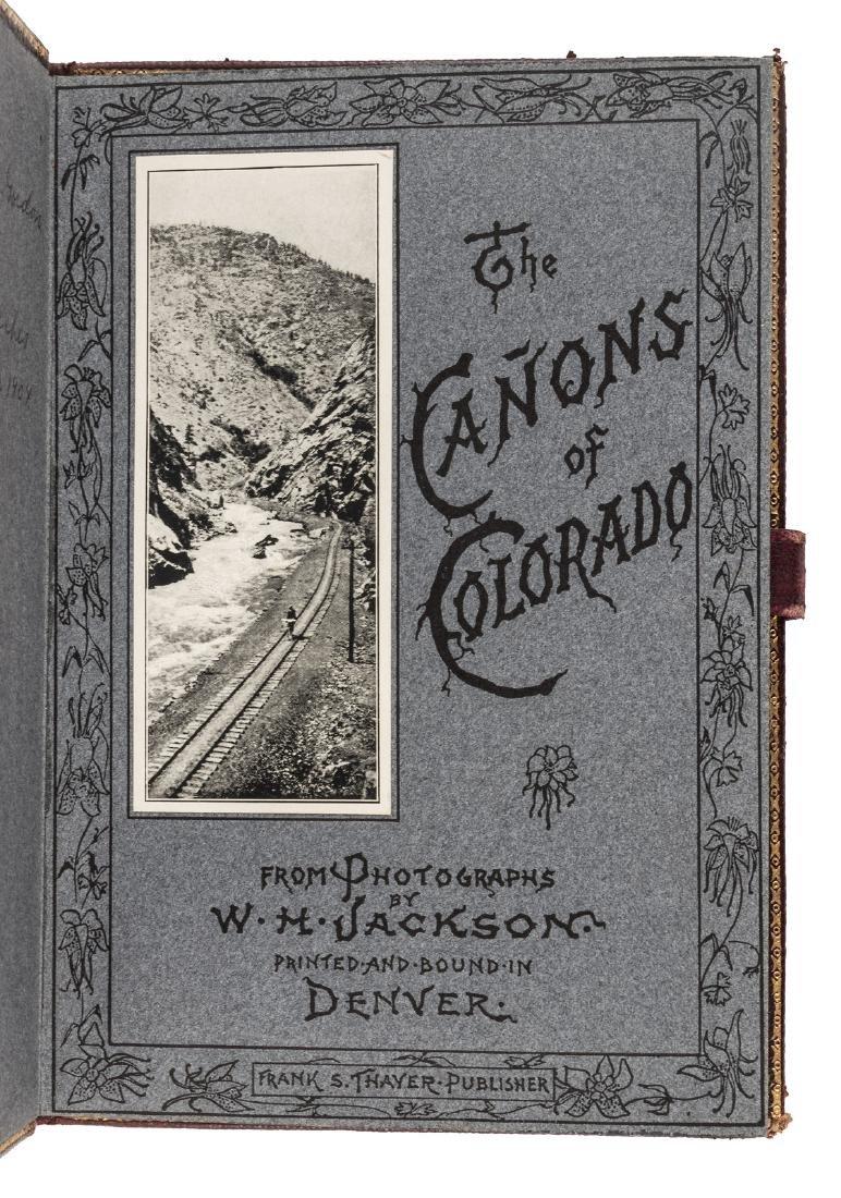 W. H. Jackson Cañons of Colorado - 2