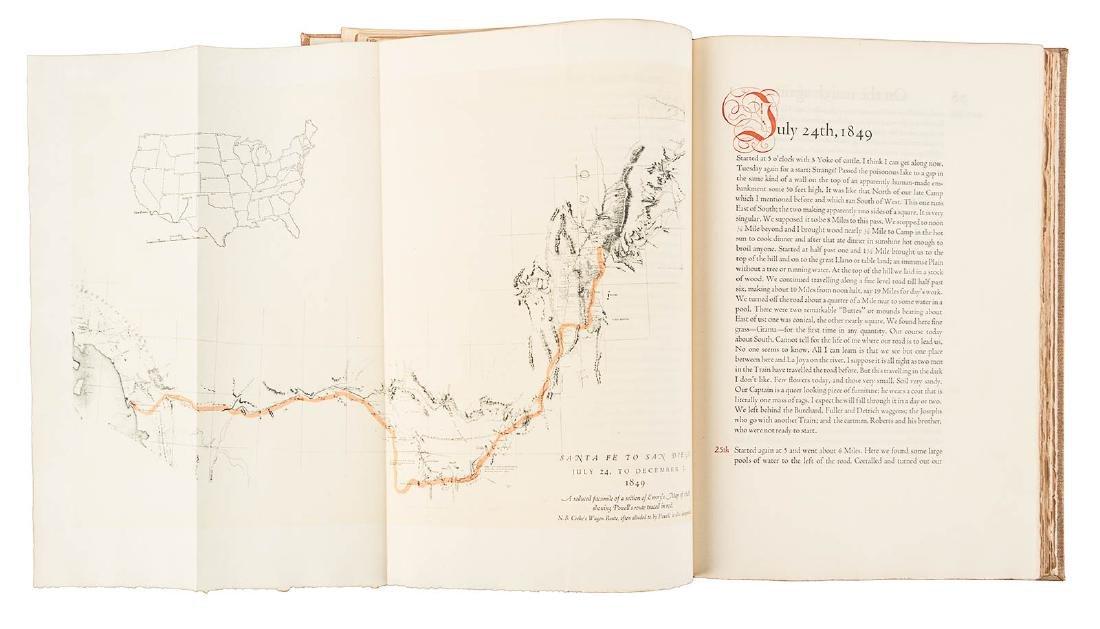 Santa Fé Trail to California Grabhorn Press - 4