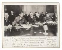 Harry Truman signed photograph