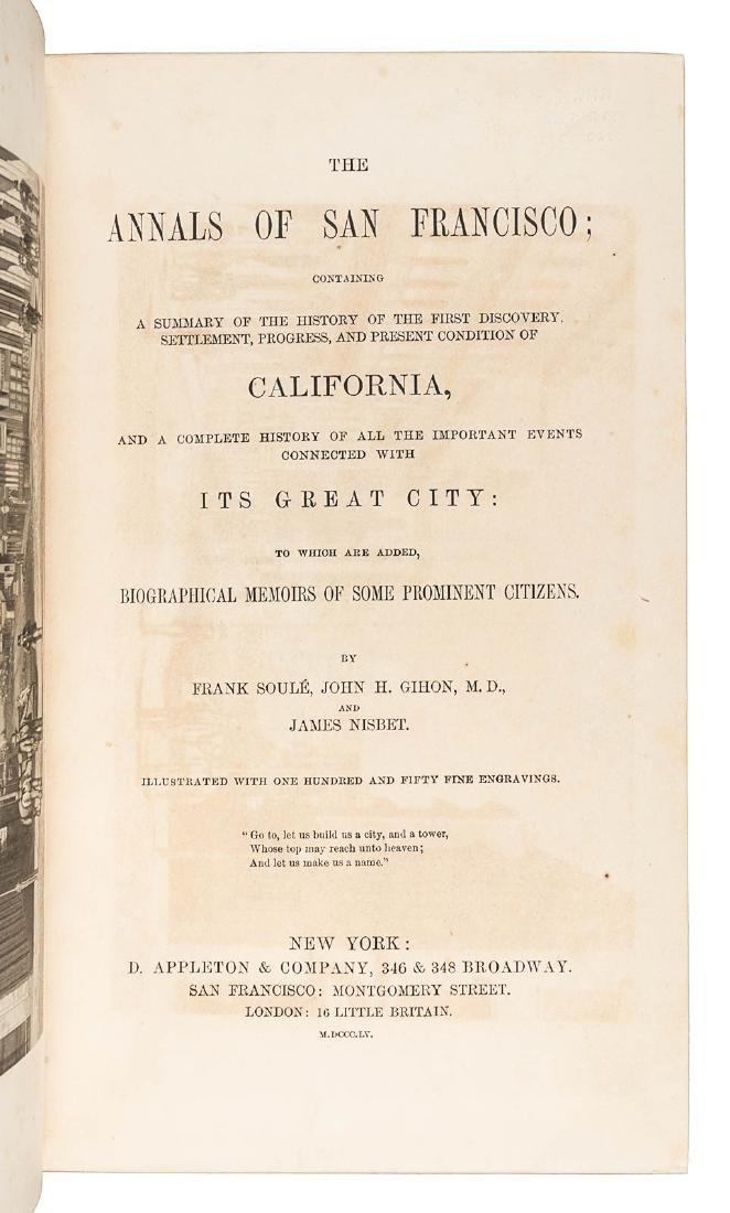 The Annals of San Francisco finely bound - 3