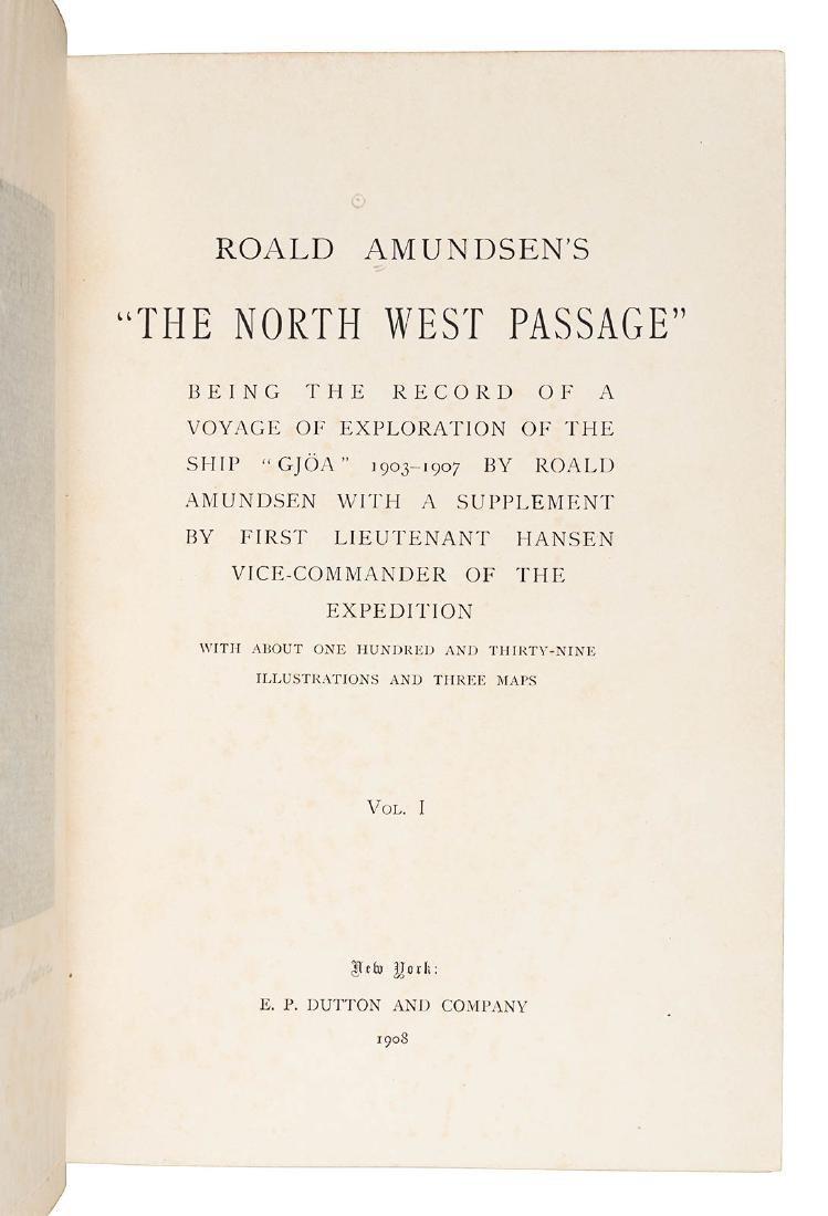 Roald Amundsen's North West Passage 1st ed - 2