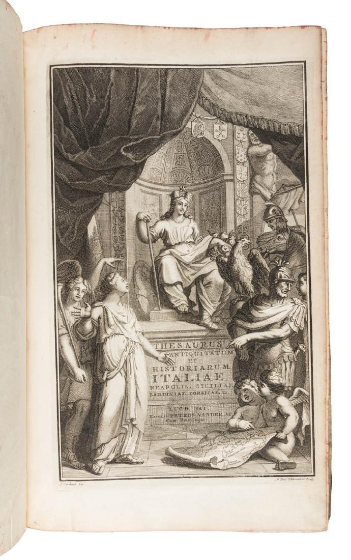 Graevii's Italian History, 22 vols. 1704-1725