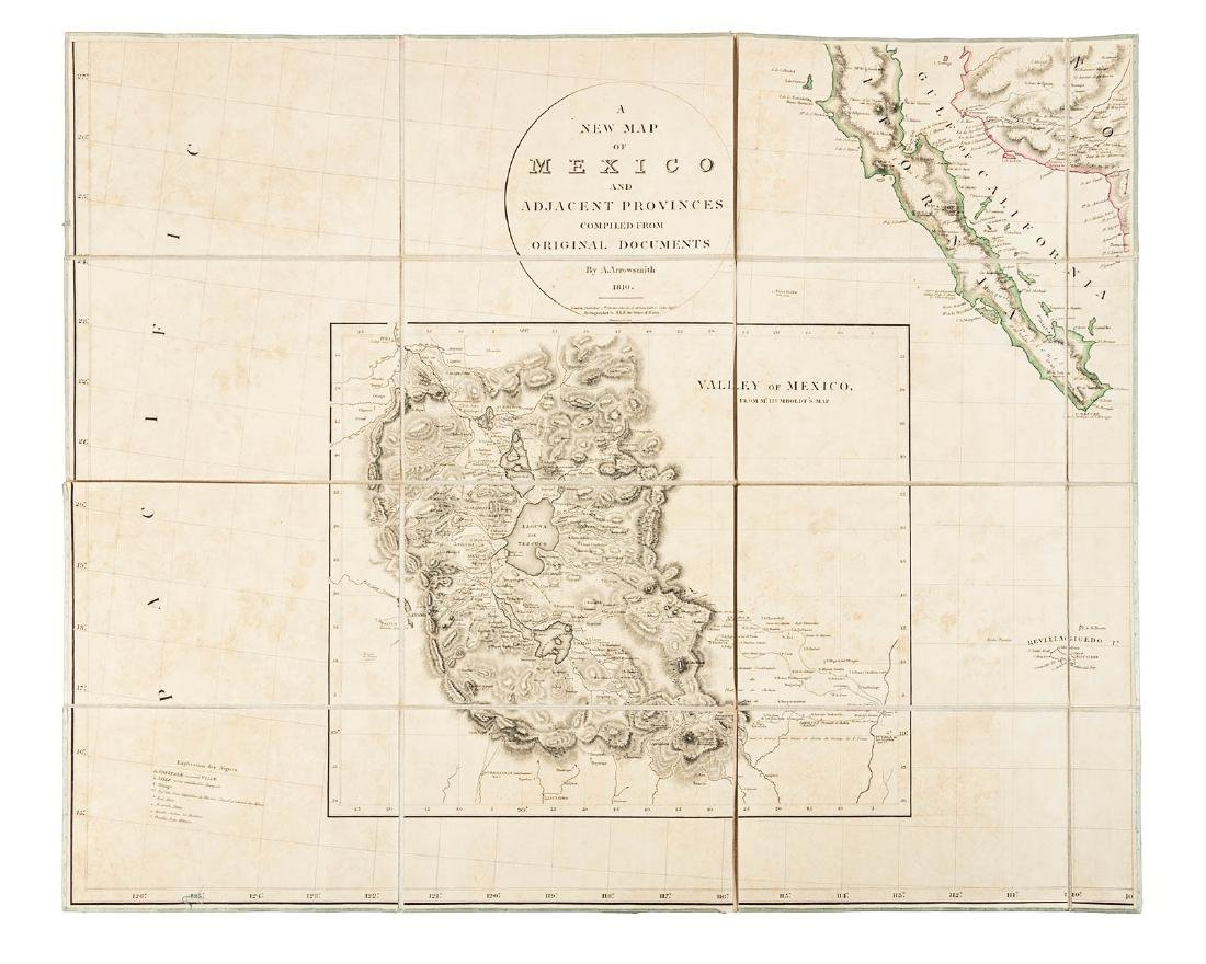 Arrowsmith's large map of Mexico 1810