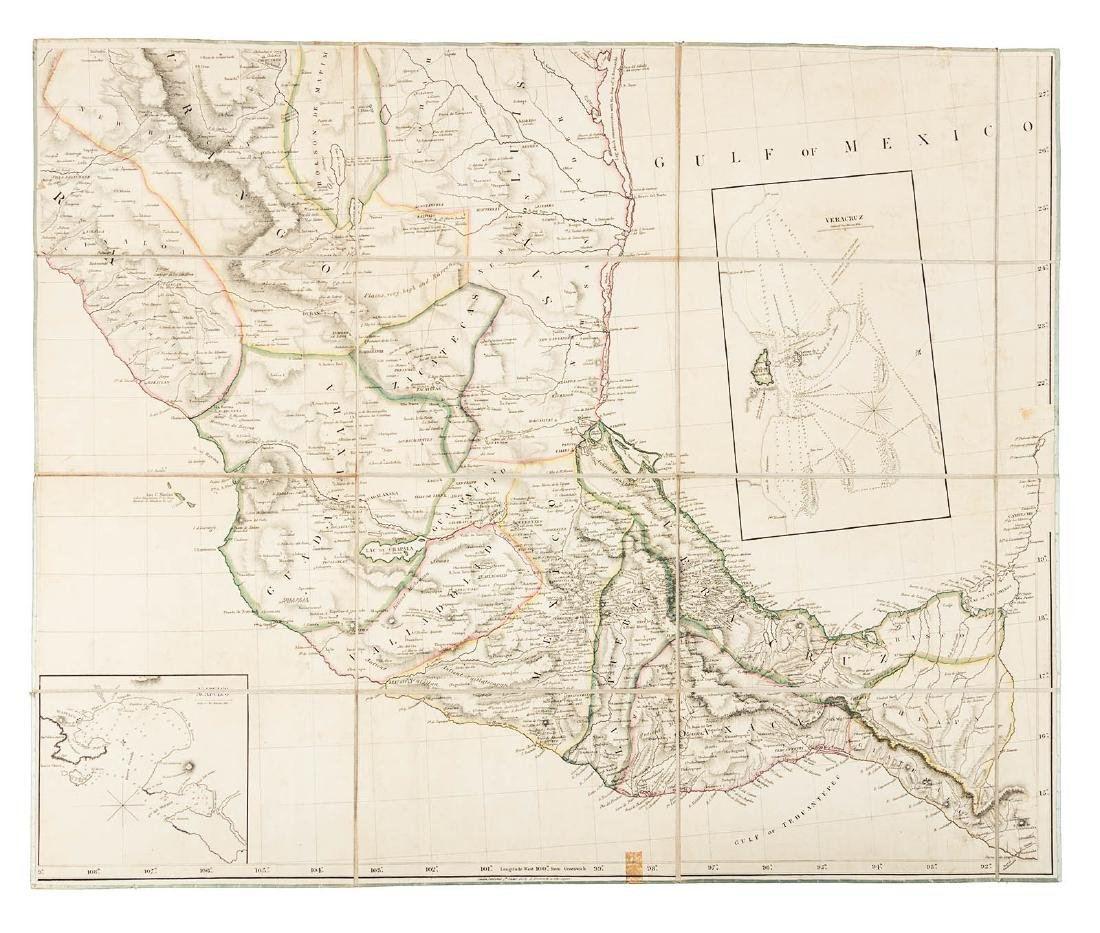 Arrowsmith's large map of Mexico 1810 - 2