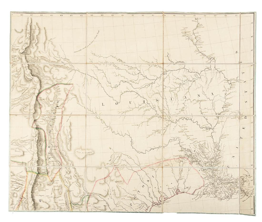 Arrowsmith's large map of Mexico 1810 - 3