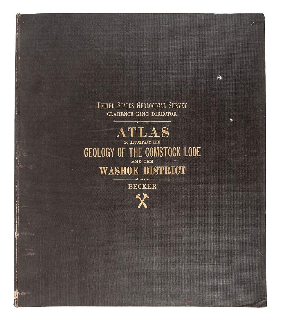 Becker's Atlas of the Comstock Lode 1882