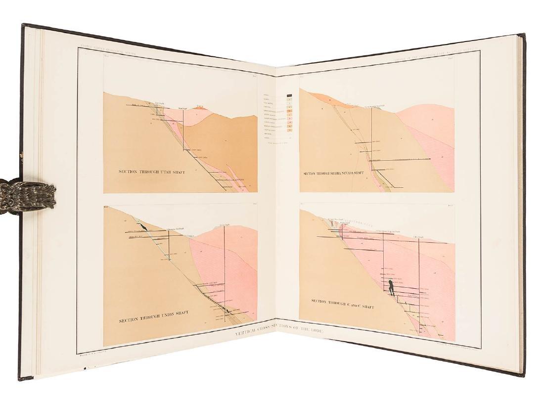 Becker's Atlas of the Comstock Lode 1882 - 2
