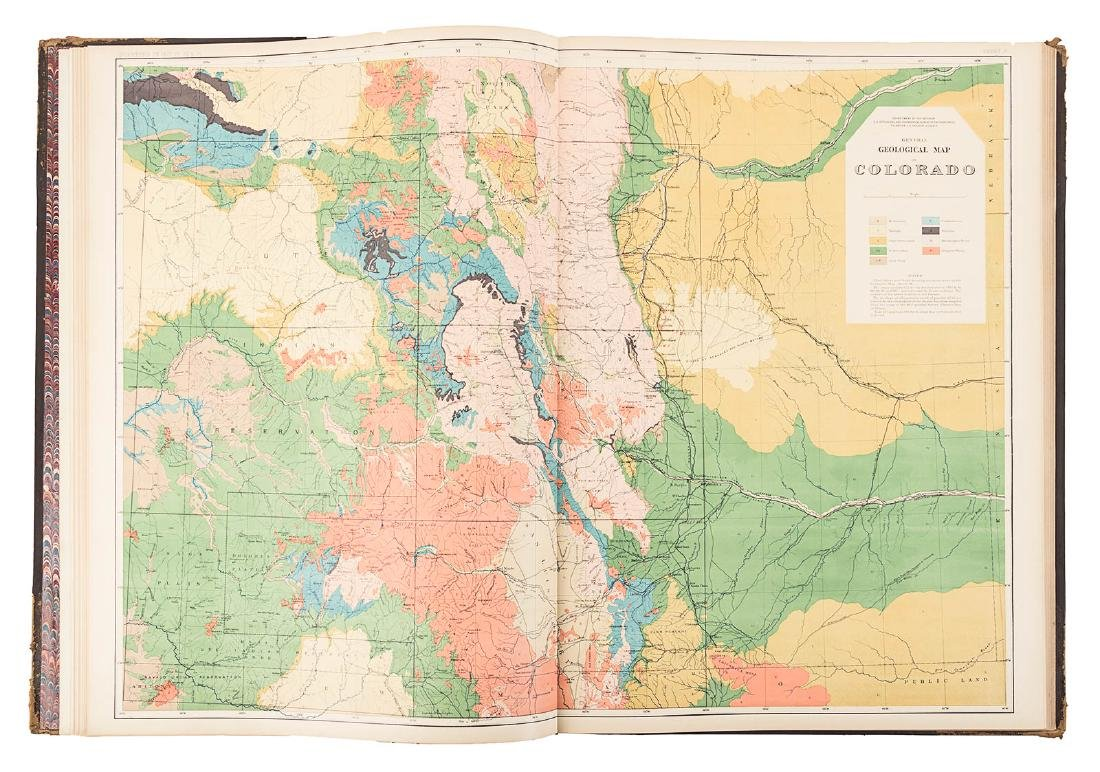 Hayden Folio Atlas of Colorado 1877