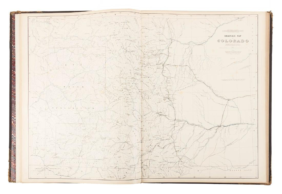 Hayden Folio Atlas of Colorado 1877 - 5