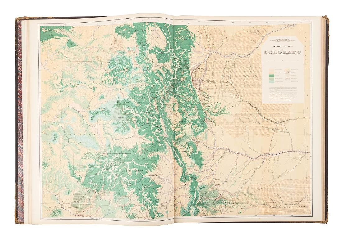 Hayden Folio Atlas of Colorado 1877 - 6