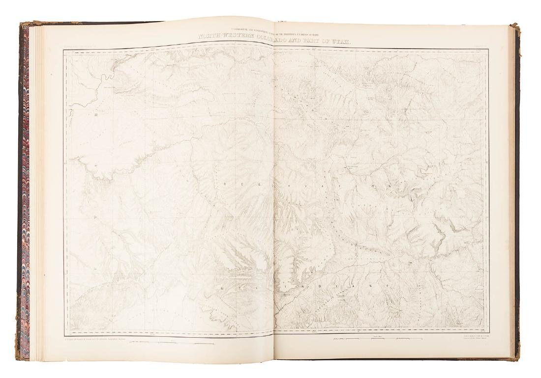 Hayden Folio Atlas of Colorado 1877 - 7