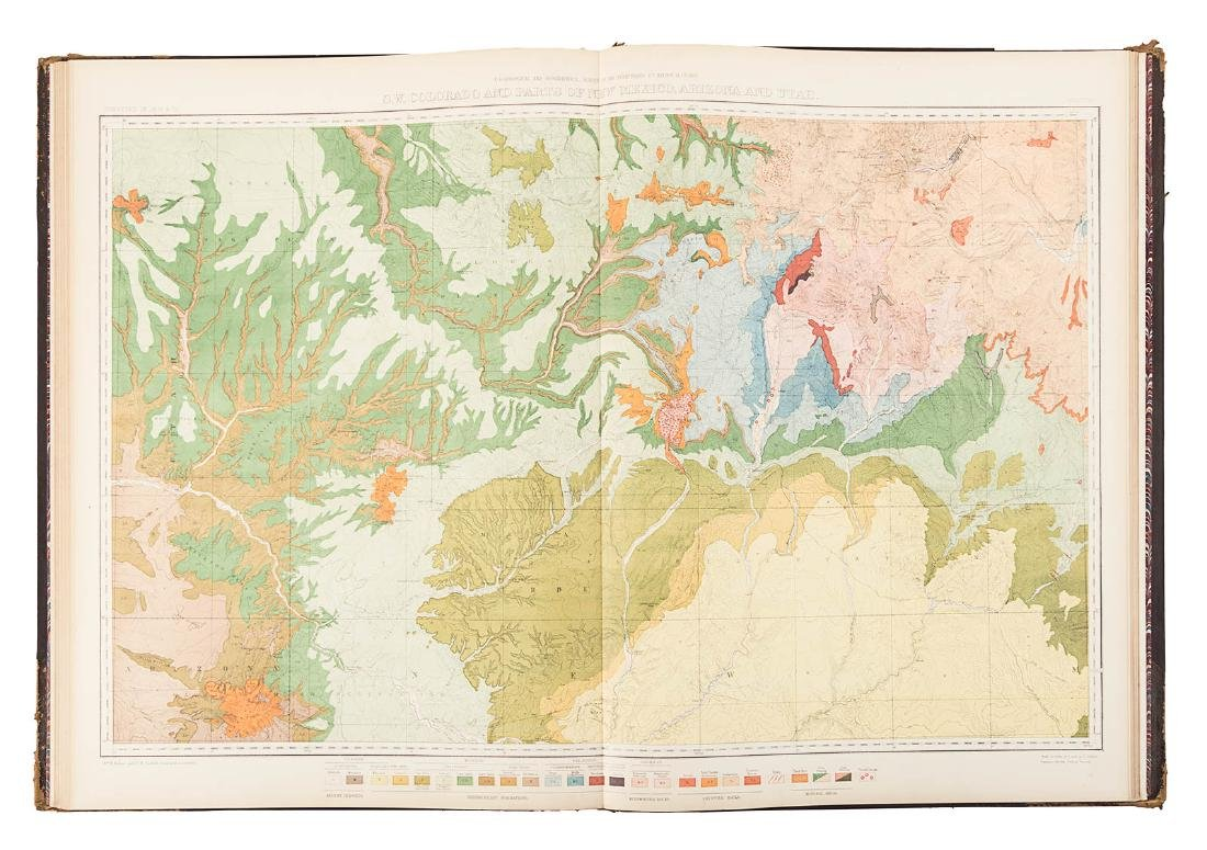 Hayden Folio Atlas of Colorado 1877 - 8