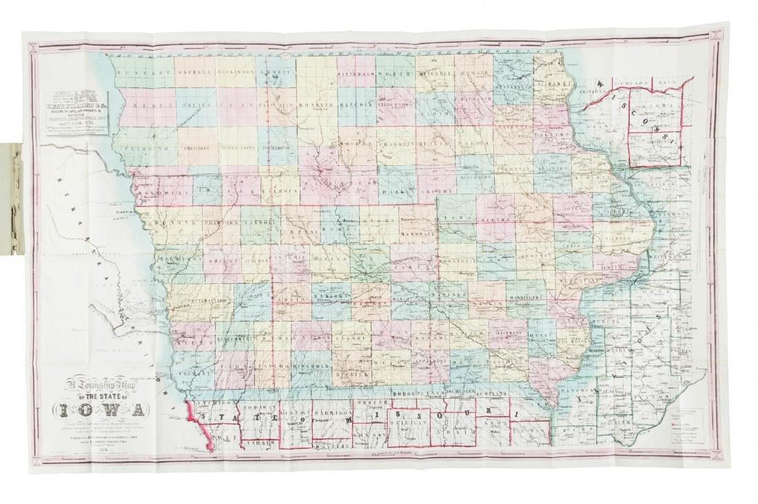 Township Map of Iowa