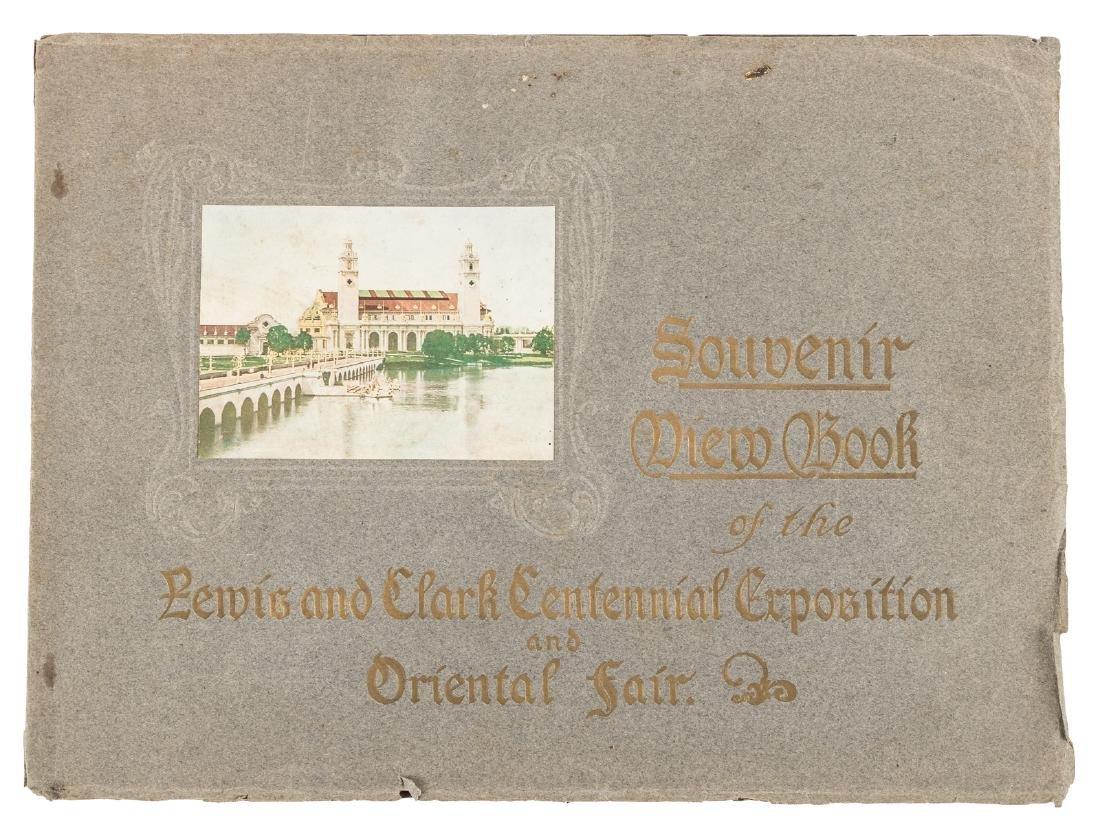 Souvenir View Book of the Lewis and Clark Centennial
