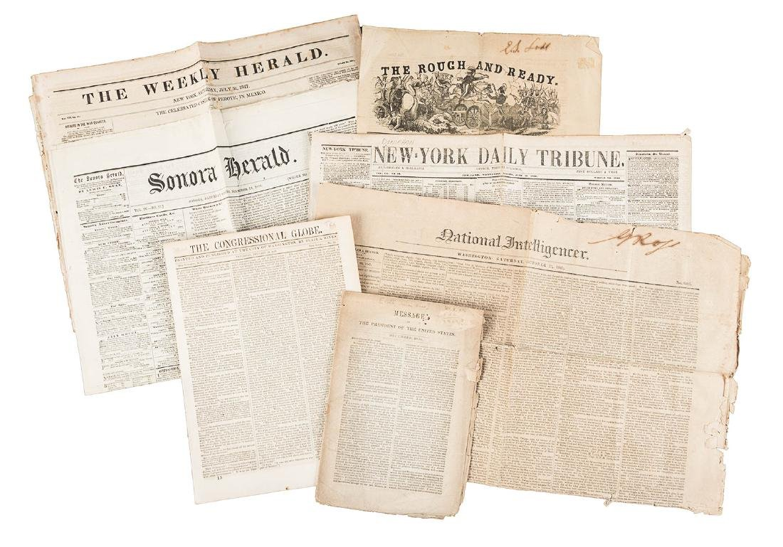 US Newspapers from during the Mexican War