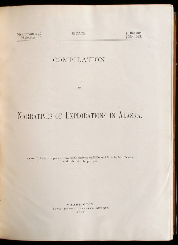 2001: Compilation of Narratives of Explorations in Alas