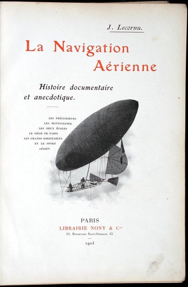 2003: La Navigation Aérienne: Histoirie, Documentaire e