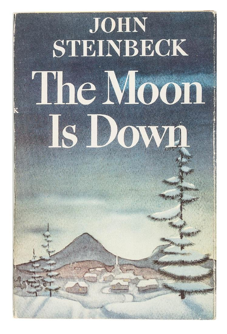John Steinbeck The Moon is Down Advance Reading Copy
