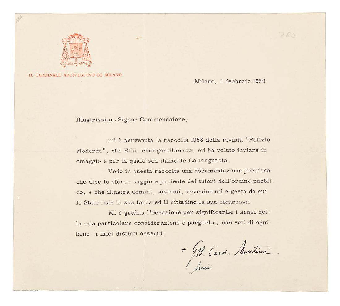 Four signed by popes or future popes - 3