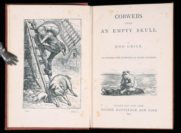 4: Bierce Cobwebs from an Empty Skull first edition