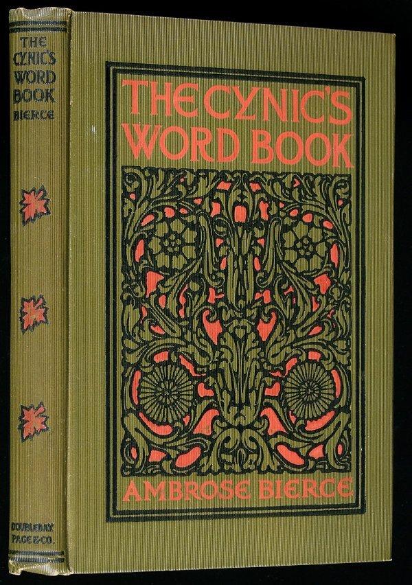 5: Ambrose Bierce Cynic's Word Book first edition