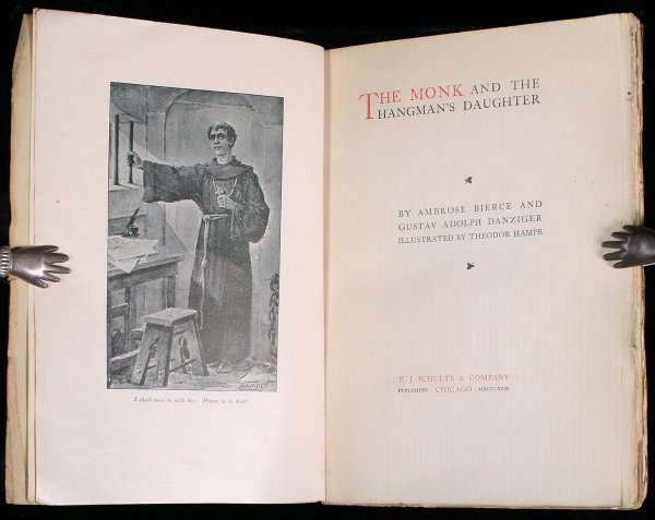 7: Bierce Monk & Hangman's Daughter book 1st ed.