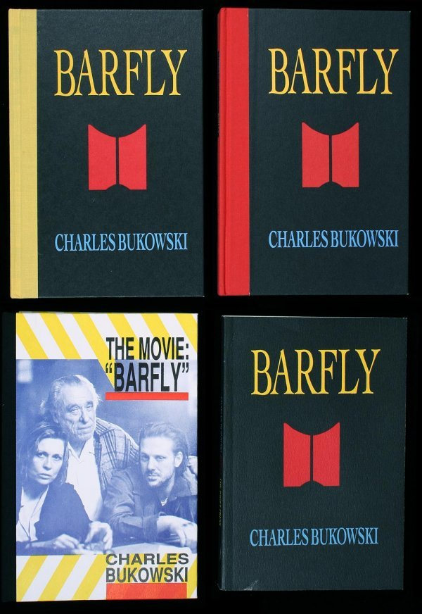 12: Bukowski Barfly first editions 4 copies 1 signed