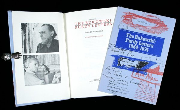 13: Bukowski Purdy Letters signed limited book