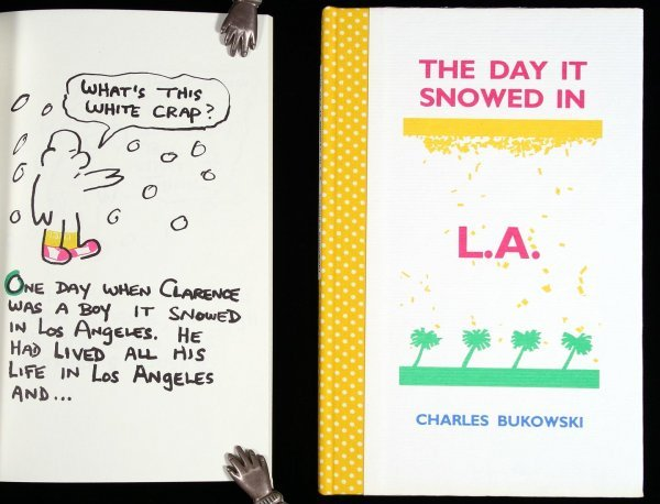 15: Bukowski Day it Snowed in L.A. signed limited