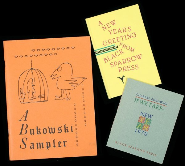 22: Charles Bukowski group of books - 2 are signed
