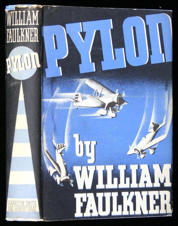 39: William Faulkner Pylon first edition in jacket