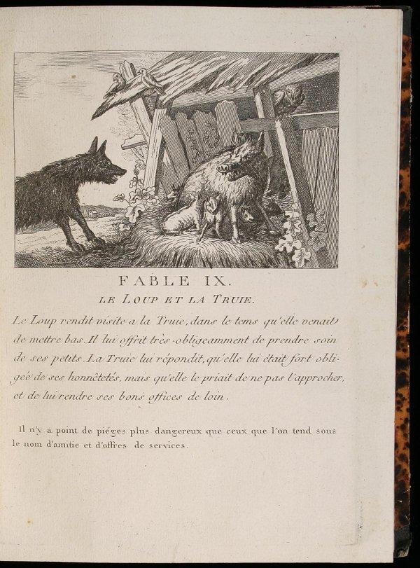 1001: Fables of Aesop - Georges Malbeste Engravings