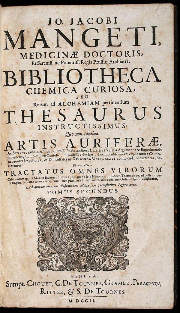 1002: Early 18th Century Alchemy Work