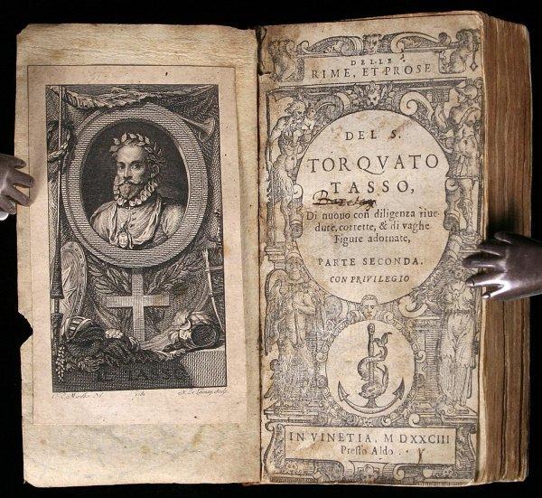 1006: Newton teacher Isaac Barrow's copy of Tasso