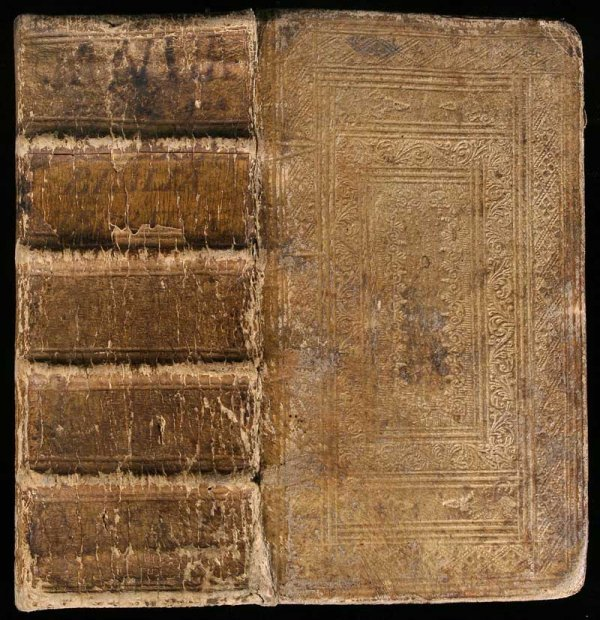 1015: Three 18th century Bible Lexicons bound together