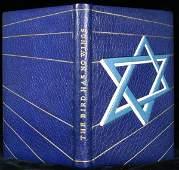 1079 2 Finely Bound Jewish History  Literature Books