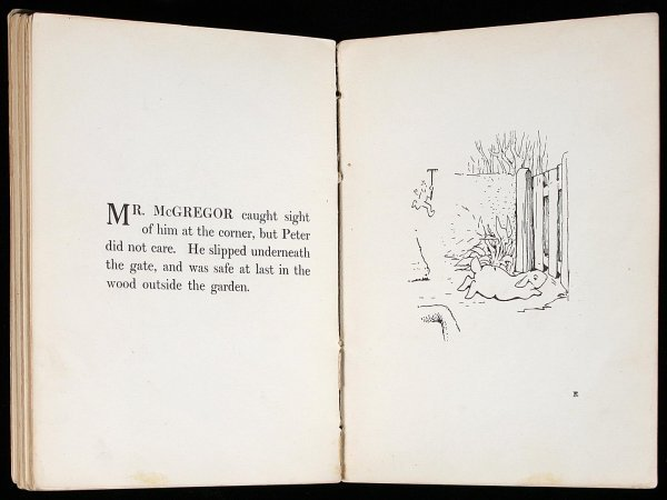 1160: Rare privately printed first of Peter Rabbit