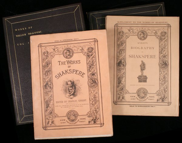 1173: Knight's Works of Shakespeare in Original Parts