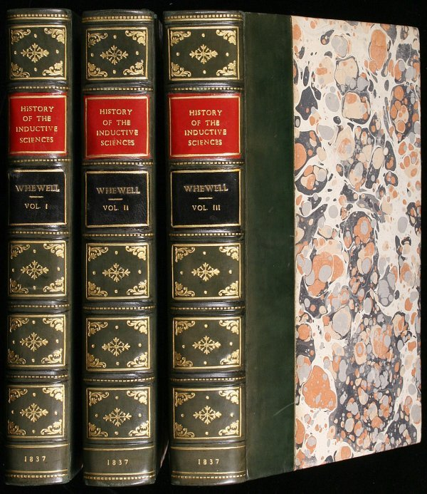1187: Whewell's History of the Inductive Sciences 1837