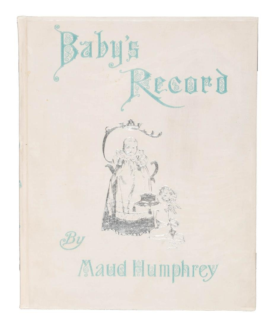 Baby's Record illustrated by Maud Humphreys 1898