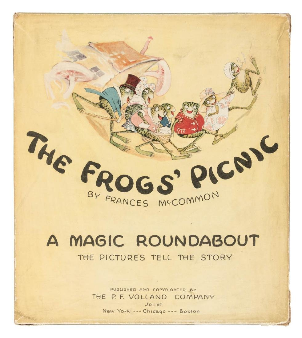 The Frogs' Picnic - rare moveable - 2